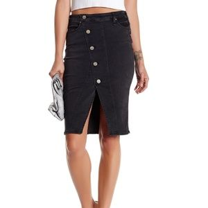 McGuire Denim Neverland Wrap Skirt